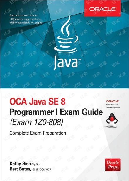 OCA Java SE 8 Programmer I Exam Guide (Exams 1Z0-808) (Oracle Press)