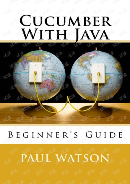 Cucumber With Java Beginners Guide 无水印pdf