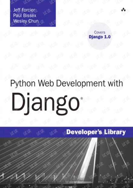 Python Web Development with Django 无水印pdf