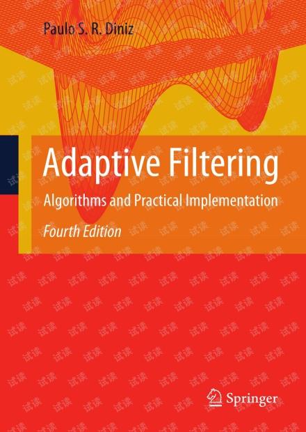 Adaptive Filtering  4th, Paulo S. R. Diniz
