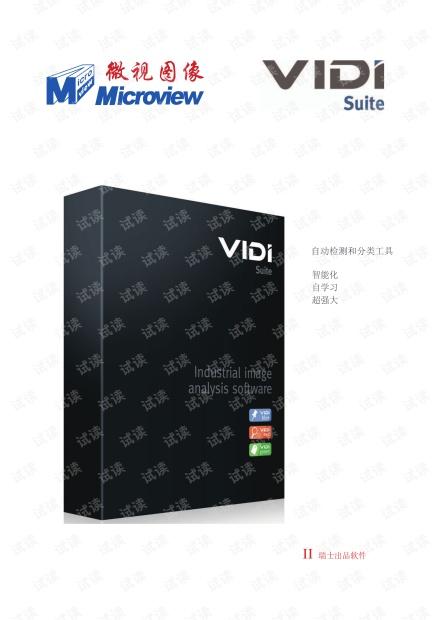 中文版VIDI资料