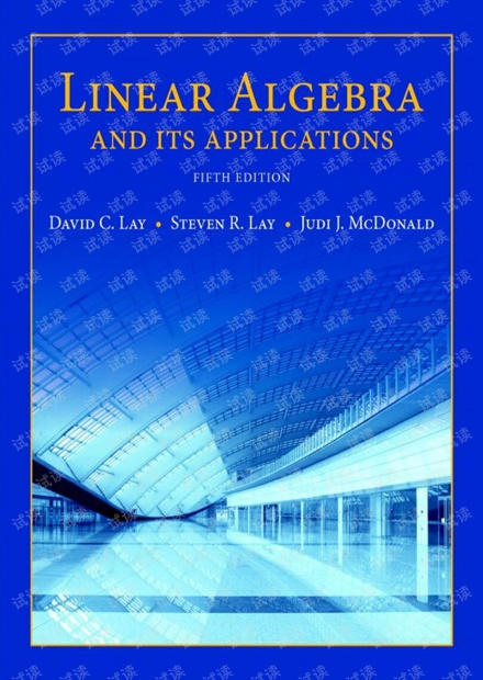 Linear Algebra and Its Applications 5th David C