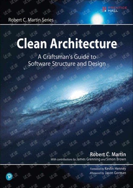 Clean Architecture A Craftsman's Guide to Software Structure and Design