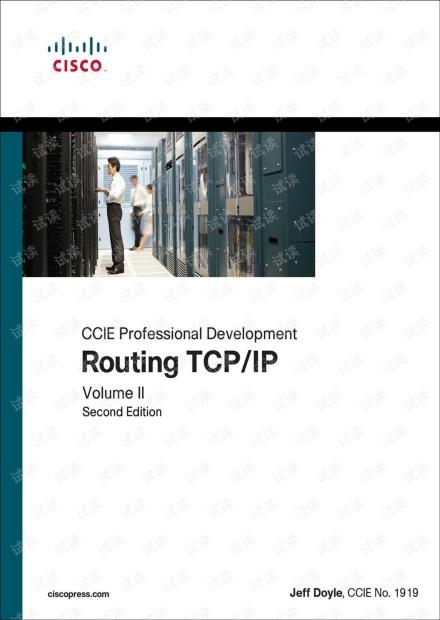 Routing TCPIP, Volume II CCIE Professional Development(2nd) 无水印原版pdf
