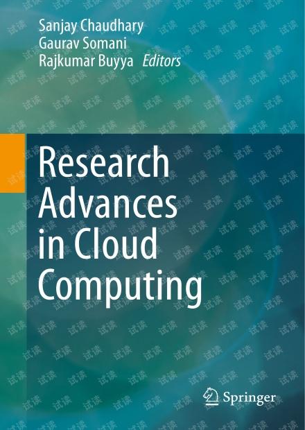 Research Advances in Cloud Computing-Springer(2017).pdf