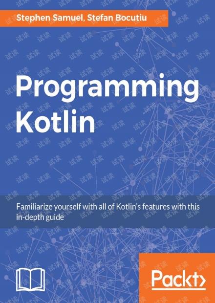 Programming Kotlin 无水印原版pdf