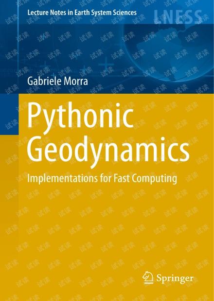 Pythonic geodynamics implementations for fast computing