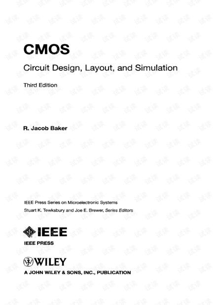 CMOS Circuit Design,Layout,and simulation.pdf