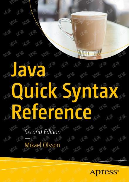 Java Quick Syntax Reference(2nd) 无水印原版pdf