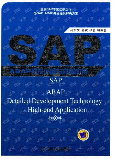 SAP+ABAP开发详解与高端应用