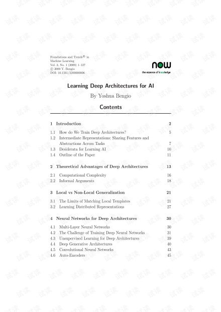 Learning Deep Architectures for AI.pdf