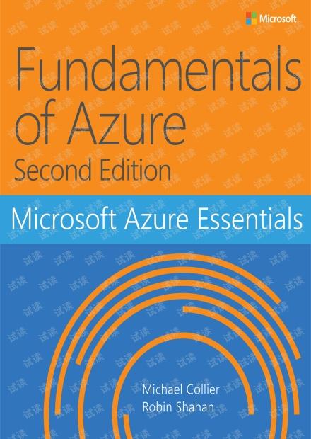 Microsoft Azure Essentials Fundamentals of Azure 2nd edition