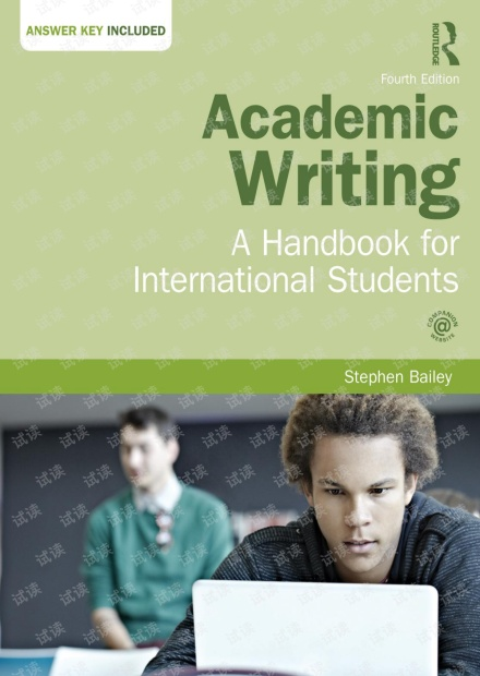 Academic writing. A handbook for international students