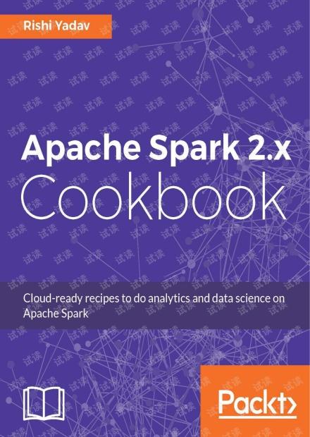 Spark 2.x Cookbook 高清原版 pdf
