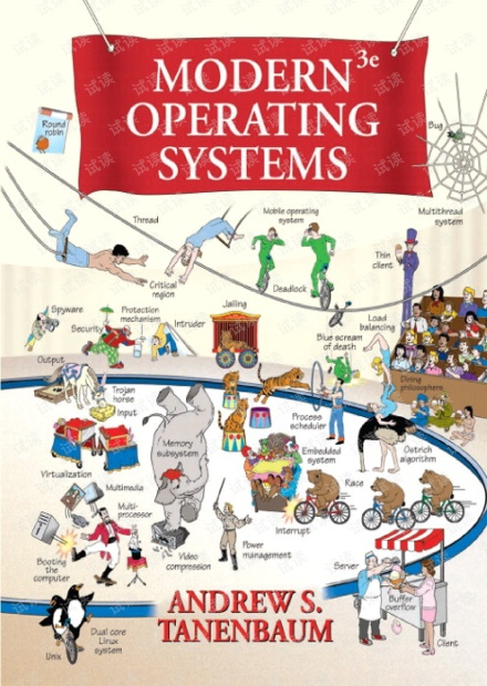 Modern.Operating.Systems.3rd.Edition(现代操作系统英文版)