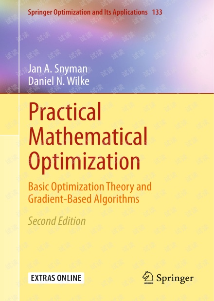 Practical Mathematical Optimization 2ed  (2018, Springer)