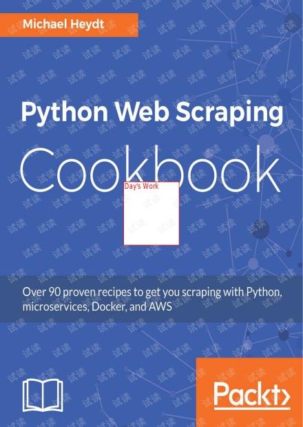 Packt Python Web Scraping Cookbook
