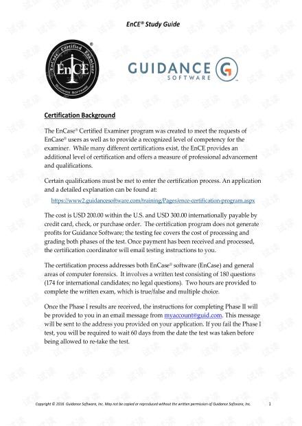 EnCE Study Guide V7