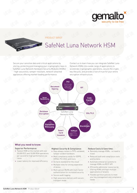 safenet HSM product