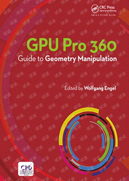 GPU Pro 360 Guide to Geometry Manipulation pdf2018