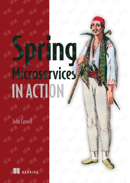 《Spring Microservices in Action》(Manning 2017)英文原版