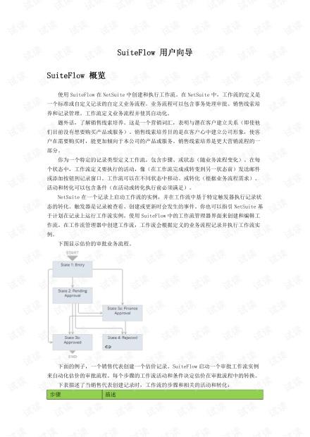 NetSuite 工作流向导 V2 PDF