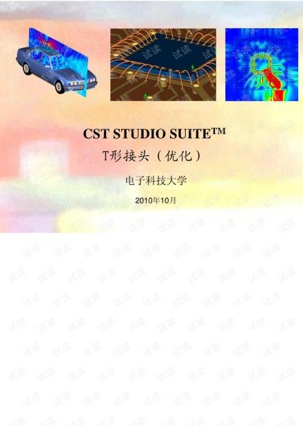 CST MWS 例题