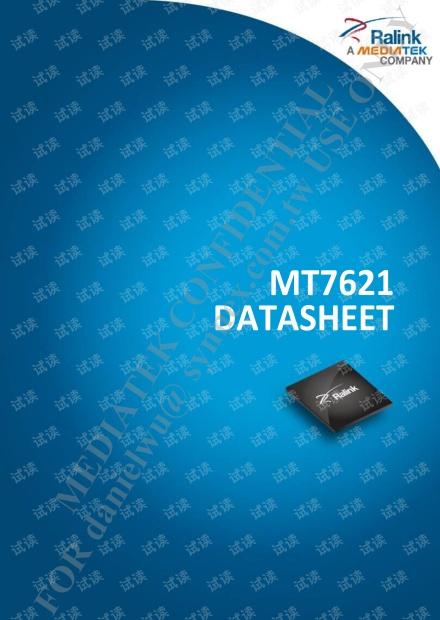 MT7621 datasheet