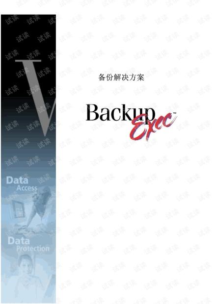Veritas存储备份模板