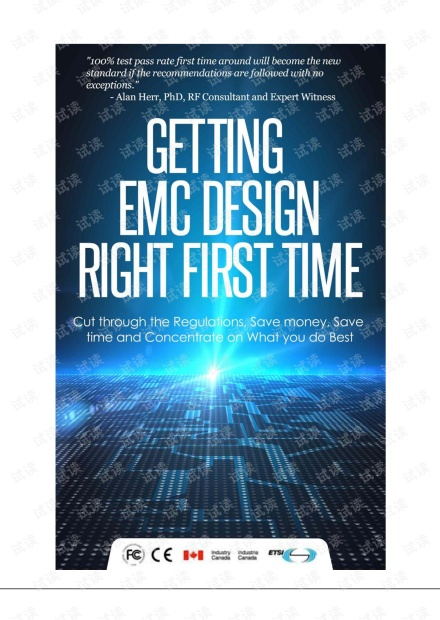 Getting EMC Design Right First Time
