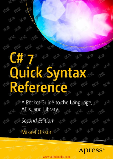 C#_7 Quick Syntax Reference, 2nd Edition--2018