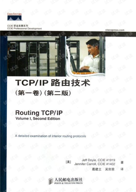 Routing TCP/IP Volume 1 (2nd Edition)(中文版)