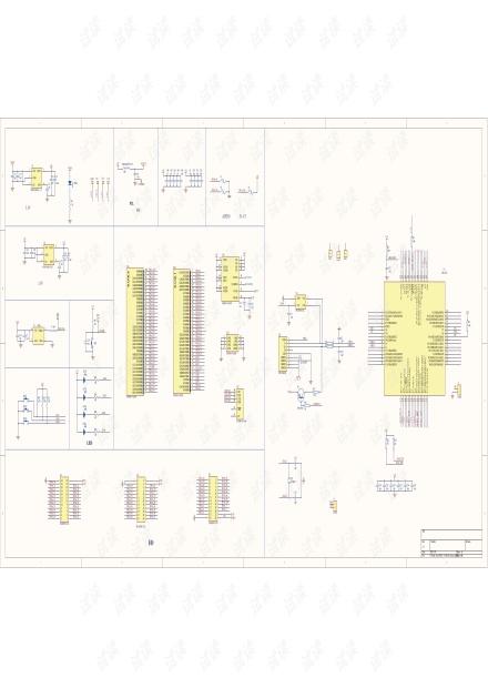 A3P060开发板原理图