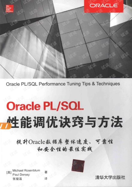 ORACLE PLSQL性能调优诀窍与方法