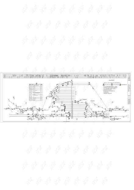 格尔木站信号设备平面布置图(2017