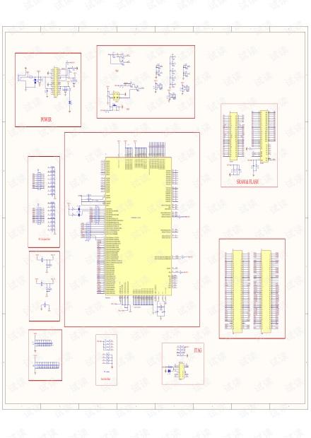 dsp28335最小系统原理图