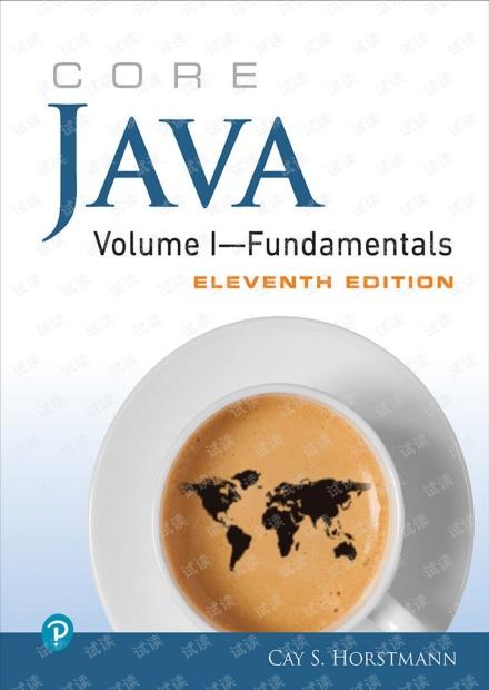 Java核心技术 卷1 原书第11版 英文版