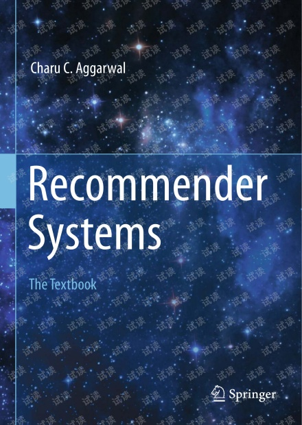 Recommender Systems - The Textbook