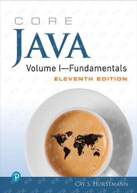 Java核心技术 卷I 基础知识 第11版 英文版 原版 霍斯特曼 Core Java Volume I Fundamentals 11th Edition