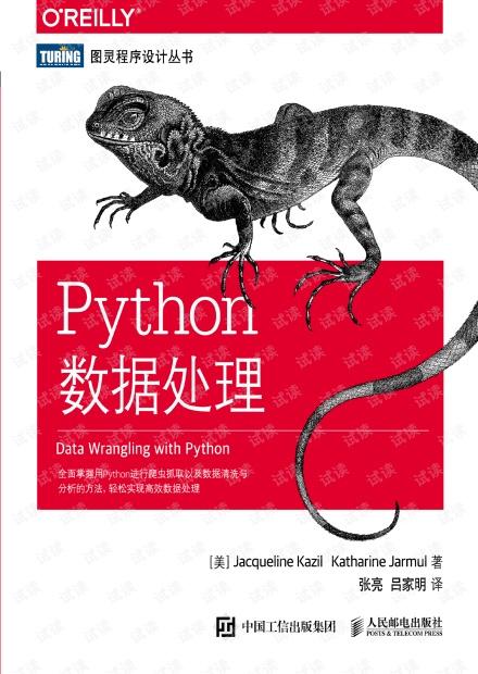 pyhton数据处理(Data Wrangling with Python)
