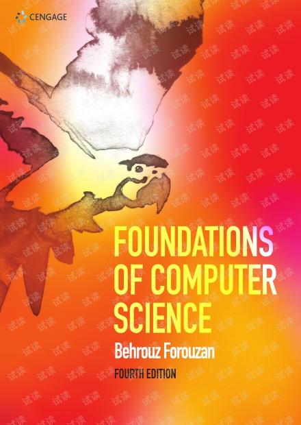 Foundations of Computer Science 4th Edition Forouzan 英文高清电子