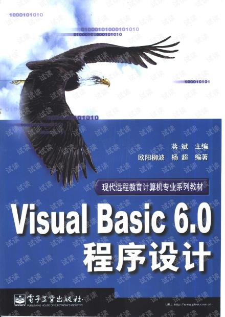 Visual Basic 6.0 程序设计