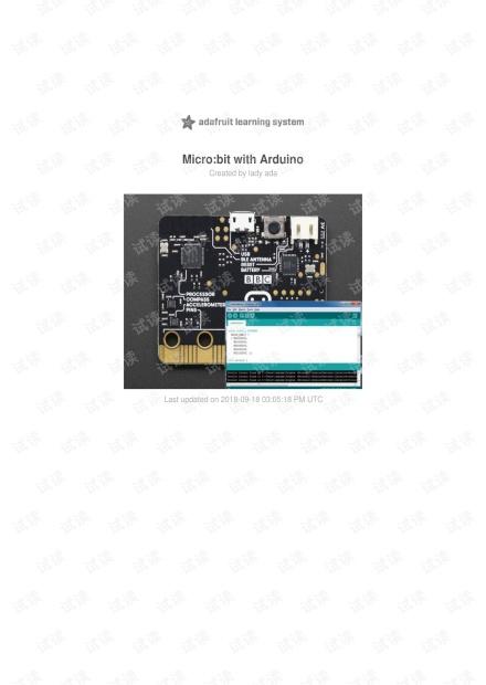 use micro:bit with arduino