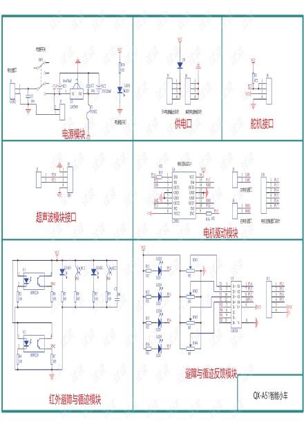 QX-A51智能小车原理