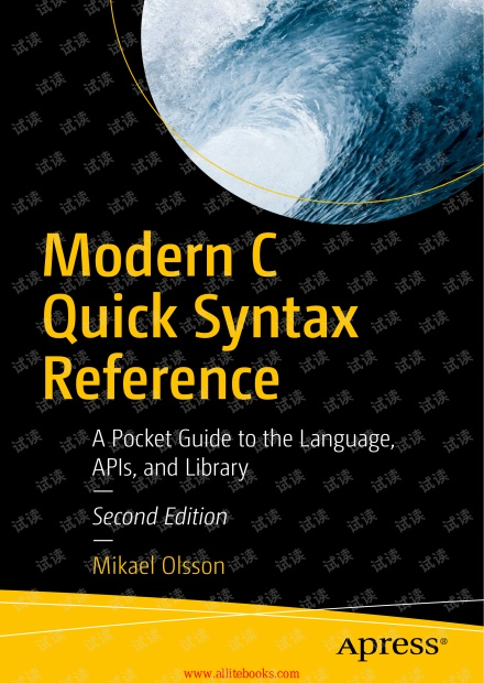 Modern C Quick Syntax Reference, 2nd Edition (2019)