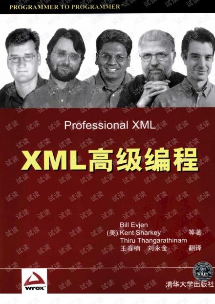 XML高级编程.[美]Bill Evjen(带详细书签).pdf