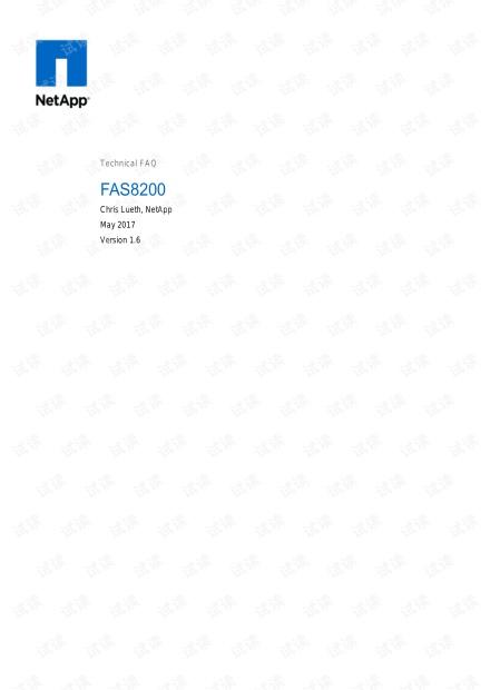 netapp fas8200