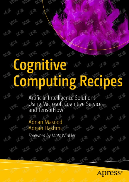 Cognitive computing recipes artificial intelligence