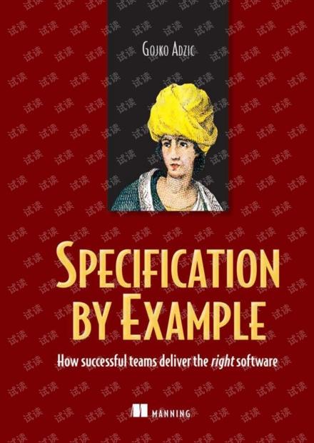 实例化需求  团队如何交付正确的软件_英文版