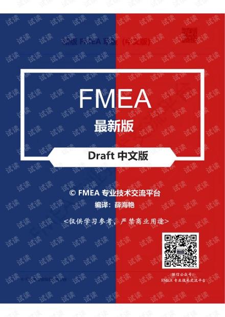 最新版FMEA第五版中文 -第四章
